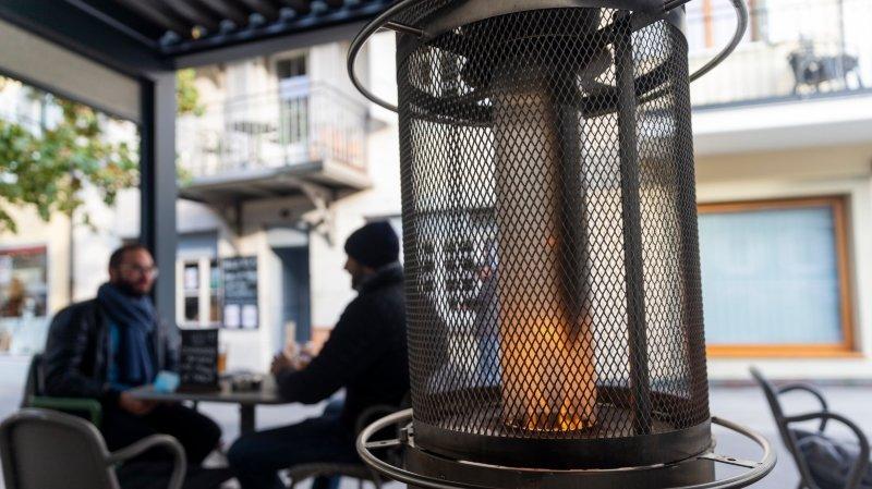 La Côte: bars et restaurants espèrent sauver leur année avec les chaufferettes