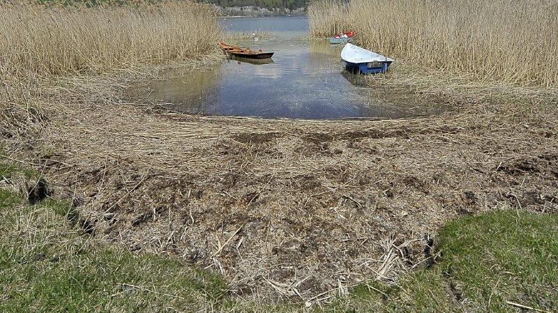 Vallée de Joux: le lac Brenet mérite d'être protégé selon le canton