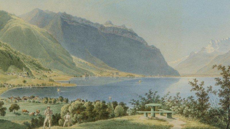 Les paysages de Steinlen plaisent aux Anglais qui passent à l'époque par Vevey.
