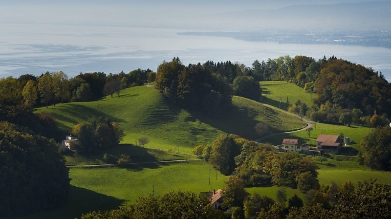 La beauté des paysages attire les visiteurs dans le canton de Vaud (archives).