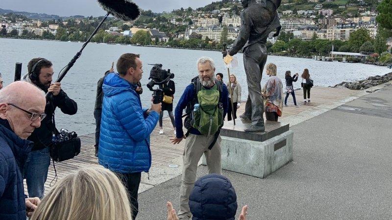 """85 jours de marche, 1000 km: Yves Auberson a bouclé son """"Défi Parkinson"""""""