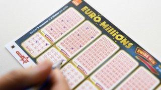 Euro Millions: une personne remporte 140'613'460 francs