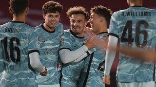 Football - Angleterre: Xherdan Shaqiri titulaire et buteur avec Liverpool
