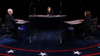 Etats-Unis: Kamala Harris et Mike Pence s'affrontent lors d'un débat pour la présidentielle américaine ferme mais courtois