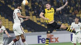 Football – Europa League: l'AS Rome rugit et renverse Young Boys
