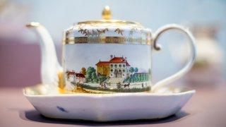 Nyon: le château dépoussière son exposition de porcelaines