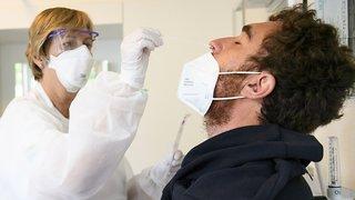 Coronavirus: l'OFSP annonce 225 nouveaux cas pour 5959 tests, 3,41% de taux de positivité, 2 morts