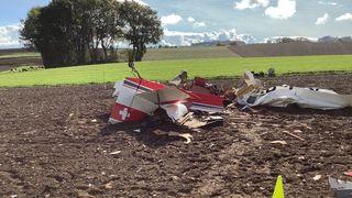 """Crash à Gimel: """"L'avion est passé 10 mètres au-dessus de notre maison!"""""""