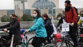 Climat: mobilisations en Europe malgré le Covid