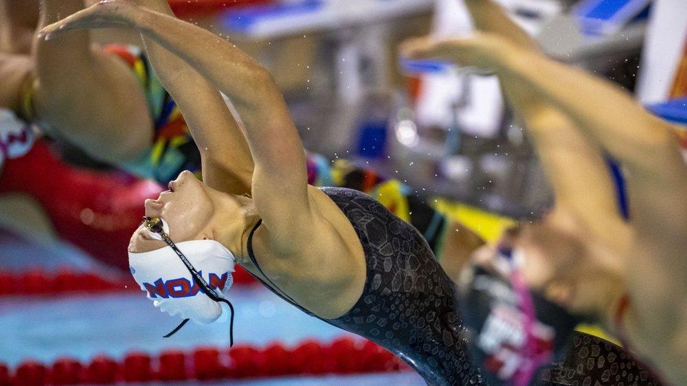 Malika Gobet a profité de quelques absences pour s'offrir un doublé en 50 et 100 m dos.