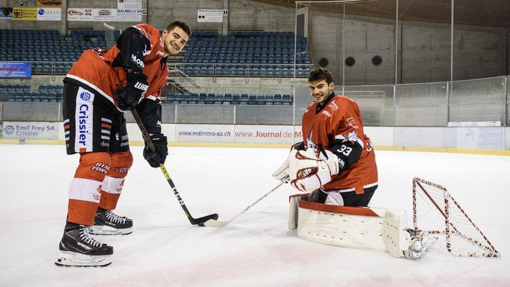 Un mois après leur dernier match de championnat, Marco et Timmy Capriati ont retrouvé avec joie les plaisirs de la glisse.