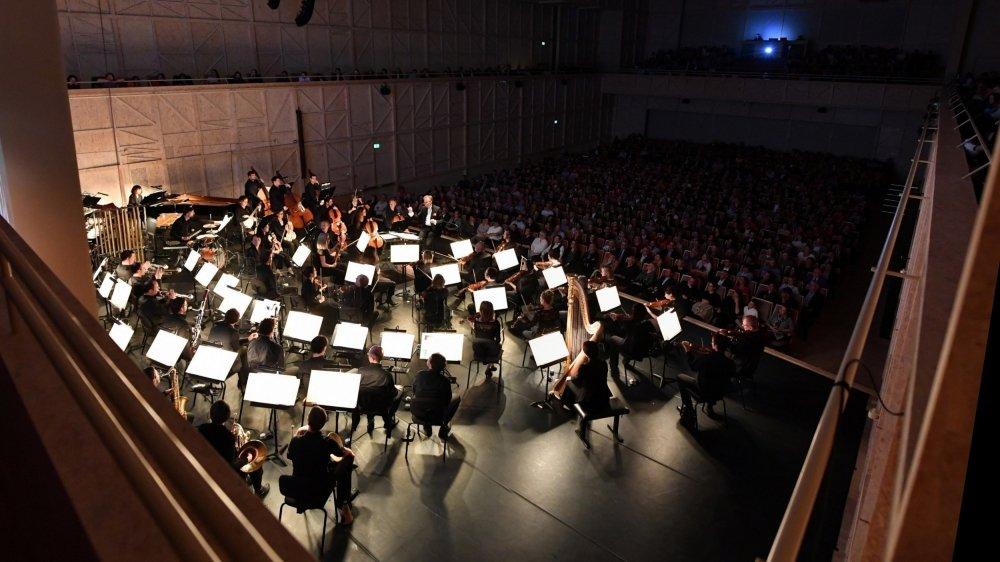 La salle du Rosey Concert Hall à Rolle ne devrait pas pouvoir accueillir le dernier concert de cette année.