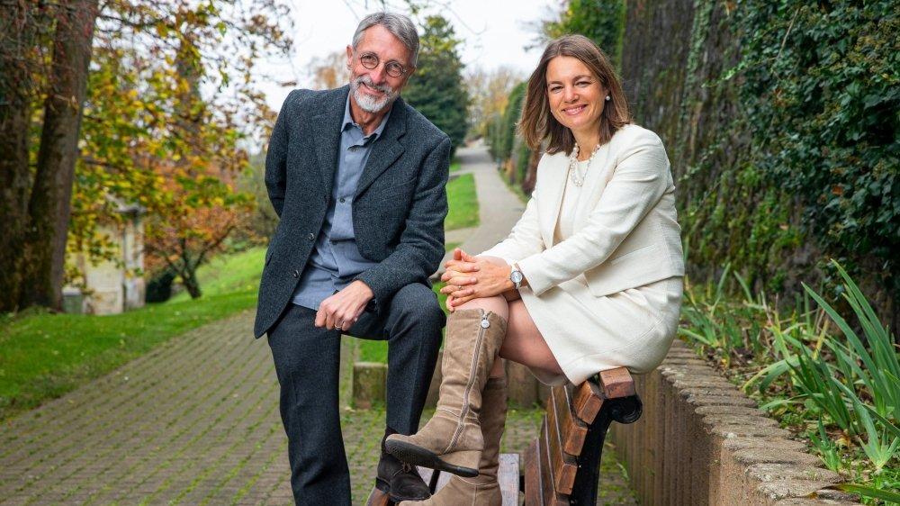 Pierre Wahlen et Elise Buckle sont deux chevilles ouvrières du parti écologiste.
