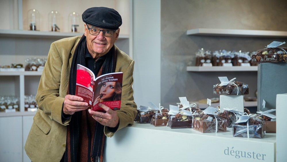 Jean-Robert Probst propose, avec son dernier roman, une énigme chocolatée à déguster, un petit peu de douceur dans une époque troublée.