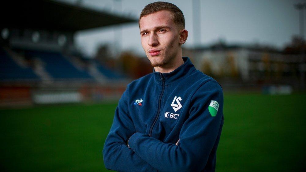"""Comme son grand frère Ridvan (joueur de l'US Terre Sainte), son """"modèle dans le foot"""", Florian Hysenaj a débuté sa carrière au Stade Nyonnais."""