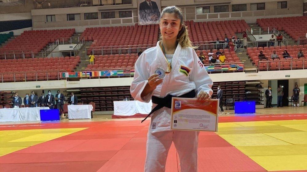 C'est un retour à la compétition réussi pour la sociétaire du Judo Club Morges, qui défend les couleurs mauriciennes à l'international.