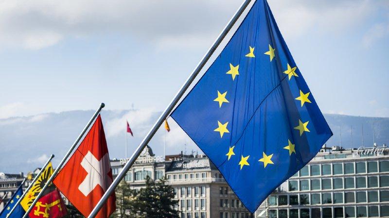 La campagne lancée par Autonomiesuisse se veut en faveur d'un meilleur accord-cadre avec l'Union européenne (illustration).