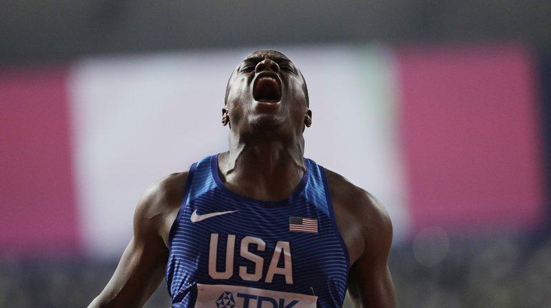 Le sprinter américain a trente jours pour faire appel.