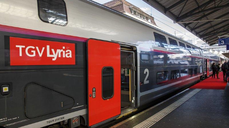 Mobilité: malgré le confinement, le TGV Lyria maintient trois liaisons entre la France et la Suisse