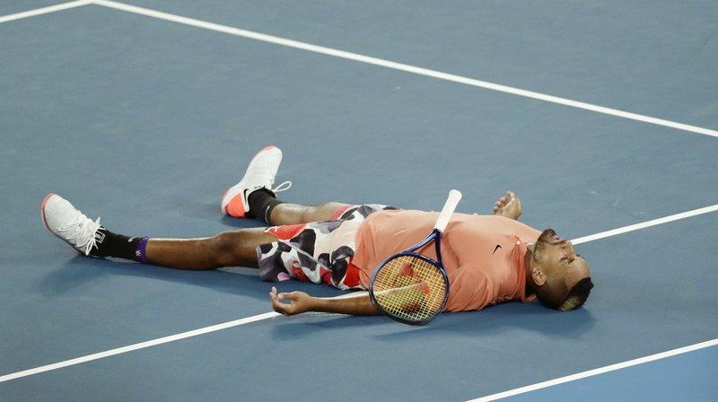 Tennis: l'Australien Nick Kyrgios dévoile son combat contre la dépression