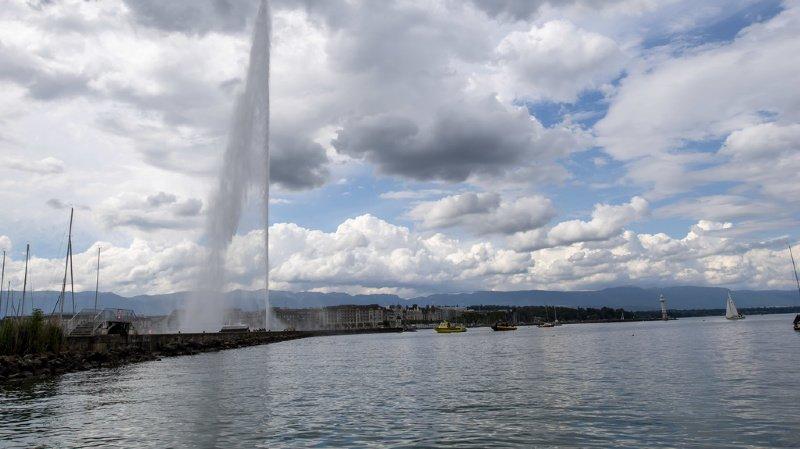 Genève: le jet d'eau sort d'un bref confinement