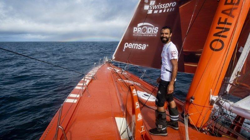 Vendée Globe: le benjamin Alan Roura n'est plus «un petit merdeux»