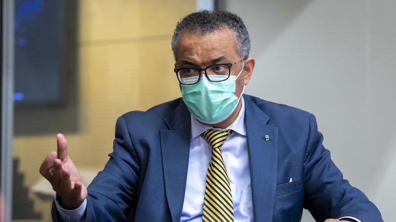 Coronavirus: le patron de l'OMS prévient qu'un vaccin ne suffira pas