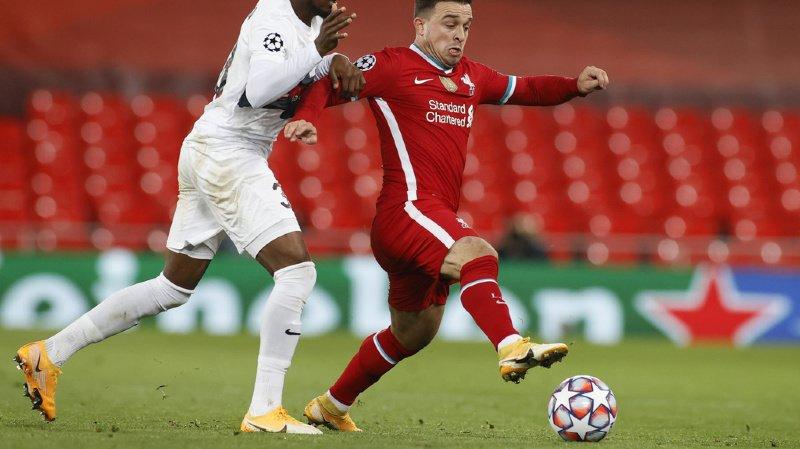 Football: Xherdan Shaqiri décisif avec Liverpool en championnat