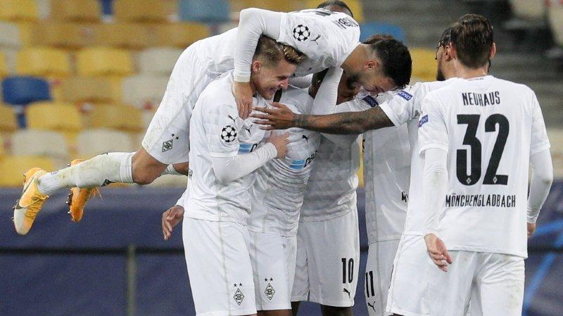 Ligue des Champions: le Borussia Mönchengladbach s'impose 6-0 contre le Shakhtar Donetsk