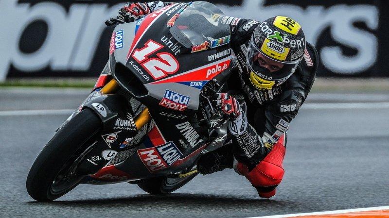 Motocyclisme – GP d'Europe: Tom Lüthi partira de la 13e place