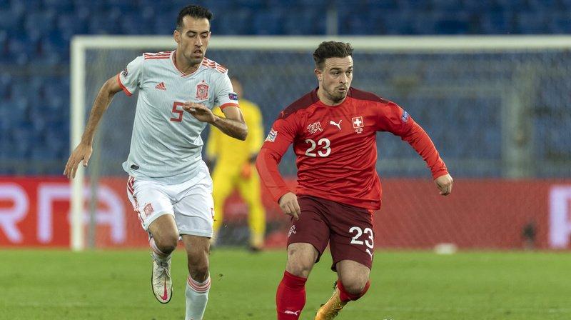 Football – Ligue des Nations: match nul pour les Suisses face aux Espagnols