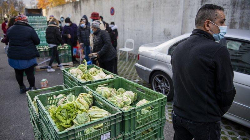 Aide alimentaire: la deuxième vague arrive en Romandie