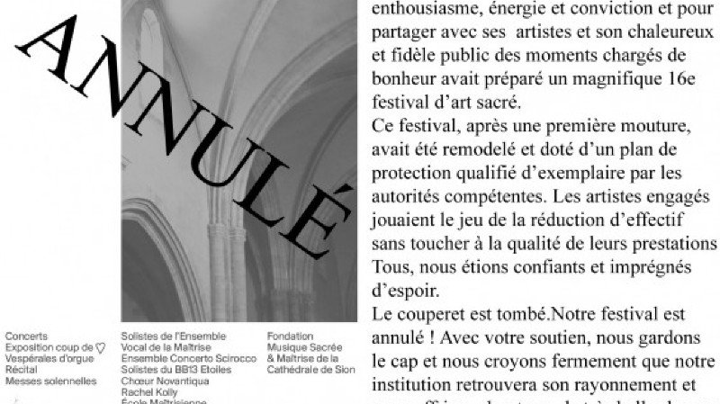 16e Festival d'Art Sacré