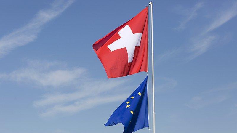 Accord institutionnel: une majorité de Suisses veut des relations stables avec l'UE