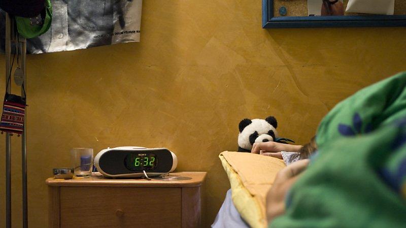 Une personne peut décider de mal dormir (photo symbolique).