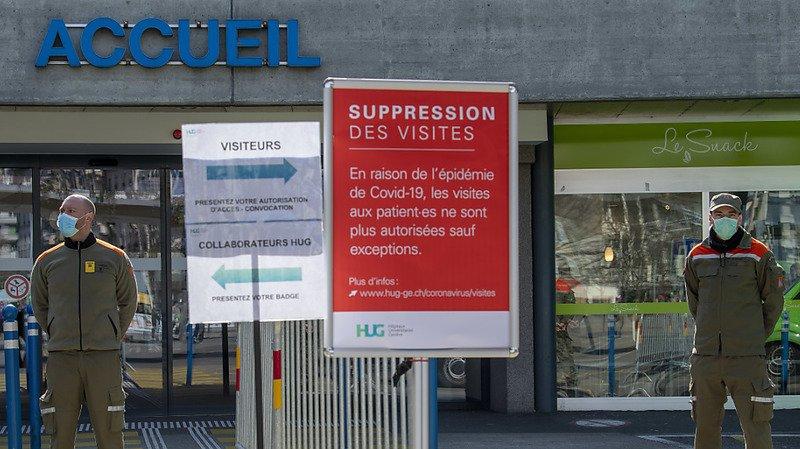 Les membres de la protection civile ont déjà été convoqués ce printemps pour venir en aide aux cantons comme ici aux Hopitaux Universitaires de Genève (HUG) (archives).