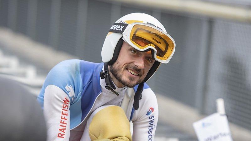Ski nordique: Killian Peier blessé à un genou, saison compromise