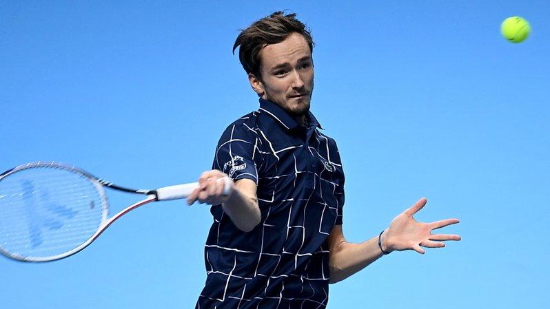 Tennis – Masters de Londres: 3e succès pour Medvedev