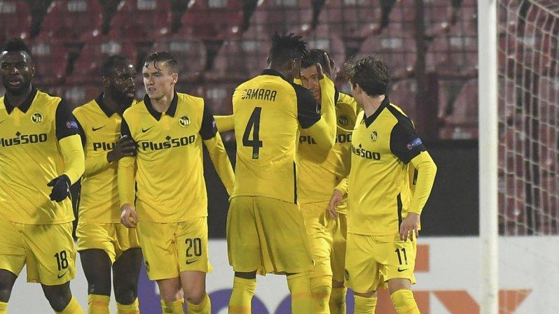Europa League: match nul 1-1 entre Young Boys et Cluj