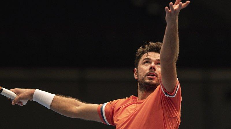 Tennis: Stan Wawrinka sorti d'entrée au tournoi de Vienne