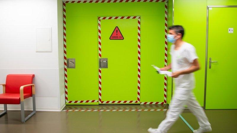 Nyon: l'hôpital prend la deuxième vague de plein fouet