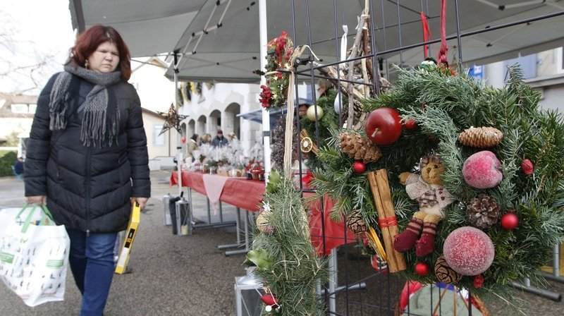 Le port du masque sera obligatoire lors des deux marchés de Noël. (Image d'archives/2015)