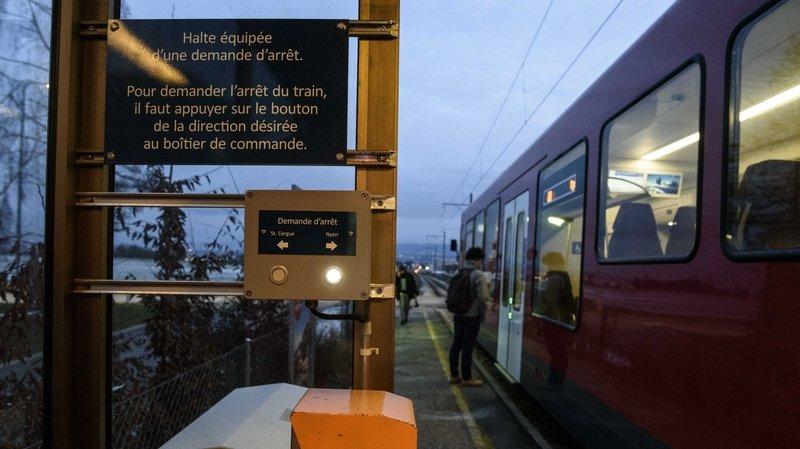 Les gares du Nyon-St-Cergue deviennent non-fumeurs