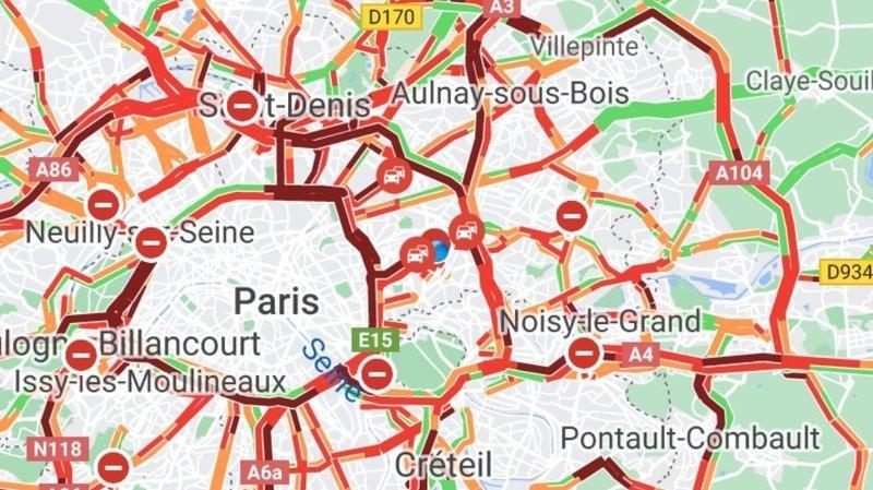 France: les Parisiens fuient la capitale et provoquent 700km de bouchons