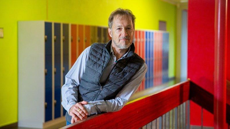 Homme d'écoute, le directeur de l'école d'Aubonne prend sa retraite