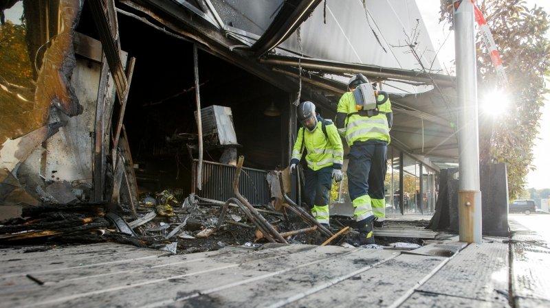 Gland: le magasin SB Sport a pris feu au milieu de la nuit