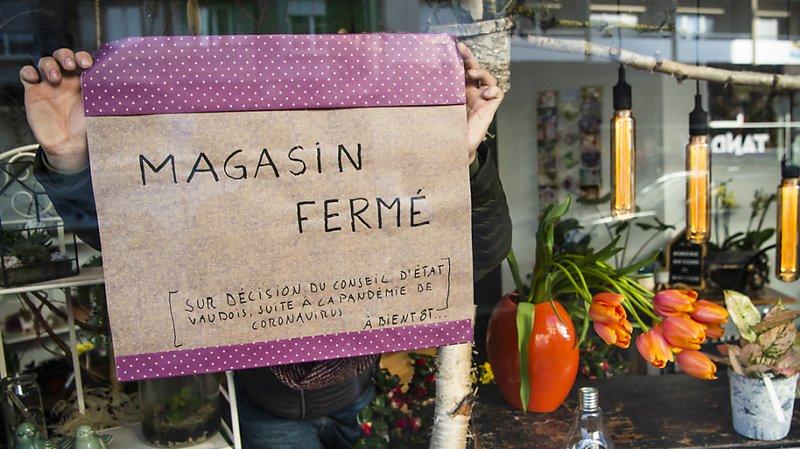 La nouvelle Fédération vaudoise du commerce de détail qui regroupe onze associations majeures redoute une nouvelle fermeture des commerces (photo prétexte).