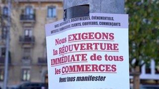 Coronavirus: Genfer Restaurantbesitzer protestierten für Wiedereröffnung