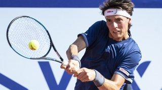 Tennis – Tournoi ATP: le Suisse Marc-Andrea Hüsler passe un tour à Sofia