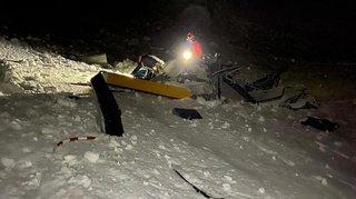 Crash d'un hélicoptère au Breithorn: il survit plus de 7 heures dans la neige